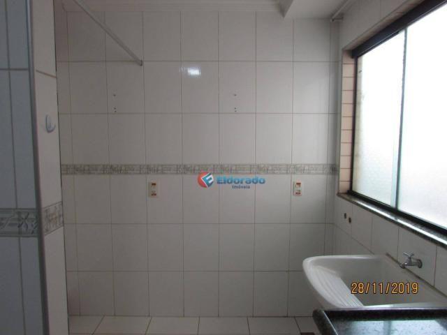 Apartamento com 3 dormitórios para alugar, 60 m² por r$ 1.100,00 - jardim são carlos - sum - Foto 10