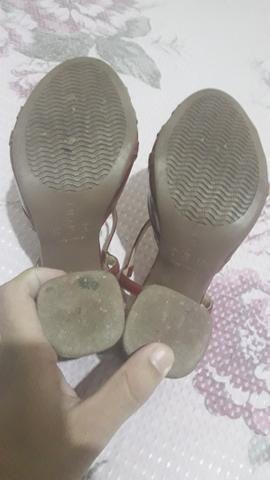 Vendo sapato feminino , da marca couro café - Foto 2