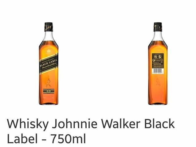Whisky Johnnie Walker Black