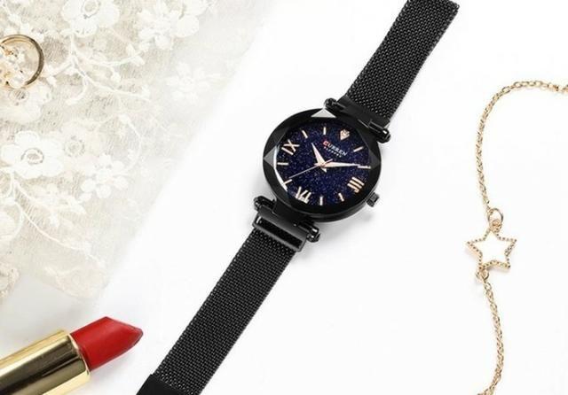 Relógio Luxo Curren Feminino - Foto 2