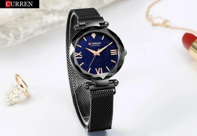 Relógio Luxo Curren Feminino