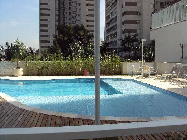Apartamento com 1 dormitório para alugar, 51 m² por r$ 2.600/mês - campo belo - são paulo/ - Foto 18