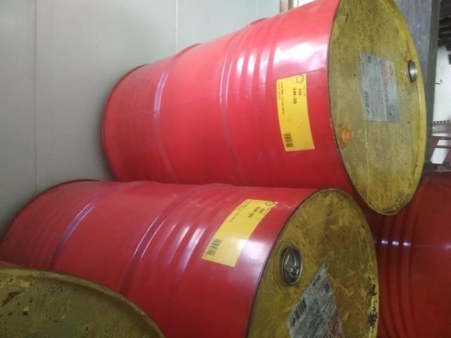Tonel Metálico 200 litros Usado Tambor Barril Latão - Foto 5