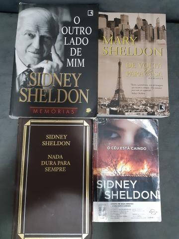 Lote de livros escritor Sidney Sheldon