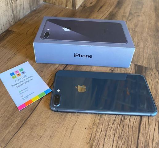 IPhone 8 Plus 64GB Cinza Espacial. GARANTIA ATÉ JULHO 2020. ACEITO CARTÃO - Foto 5