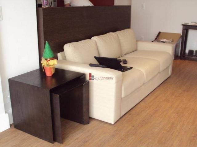 Apartamento com 1 dormitório para alugar, 51 m² por r$ 2.600/mês - campo belo - são paulo/ - Foto 11