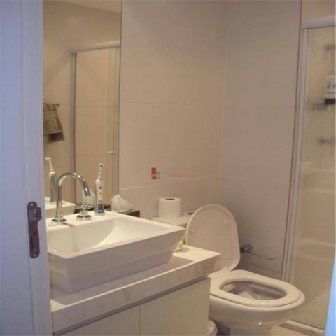 Apartamento com 1 dormitório para alugar, 51 m² por r$ 2.600/mês - campo belo - são paulo/ - Foto 13
