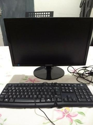 Monitor Sansung e Teclado - Foto 2
