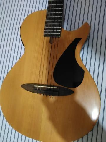 Violão Nylon Top Estilo Guitarra - Foto 2