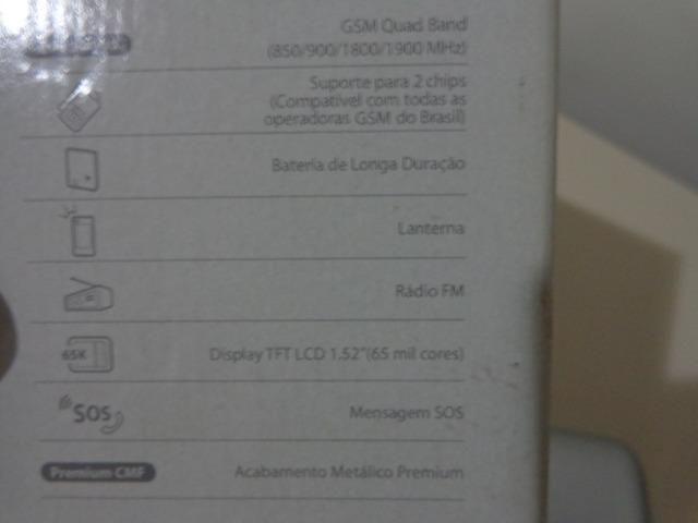 Celular Samsung E1182L - Seminovo - Baixo Guandu-ES - Foto 5