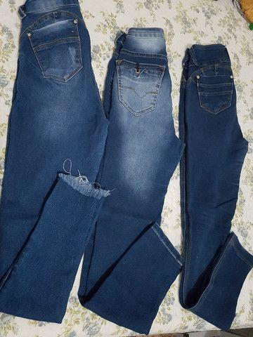 *Desapego* calças de marca n 38 - Foto 2