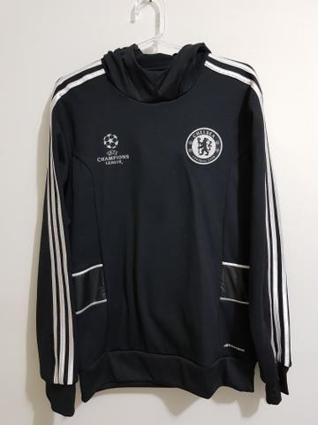 Blusa do Chelaea Adidas, com capuz. Original