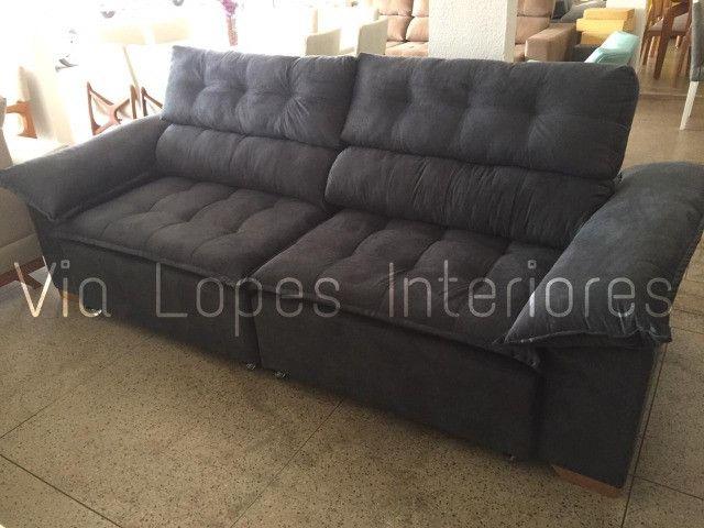 Sofa com pilon de 2.50 ctm aqui na Via Lopes Interiores wpp 62 9  *