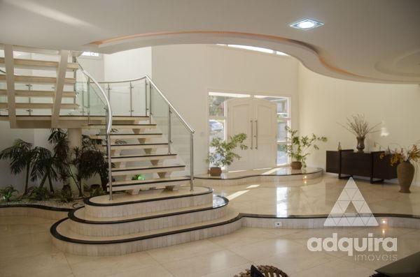 Casa em condomínio com 4 quartos no Villagio Del Tramonto - Bairro Estrela em Ponta Grossa - Foto 3