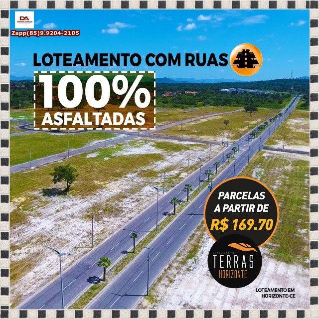 Terras Horizonte Loteamento- Venha fazer uma visita &*&> - Foto 12