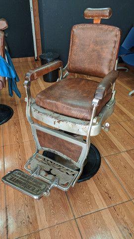 Cadeira de barbeiro Ferrante - Foto 2