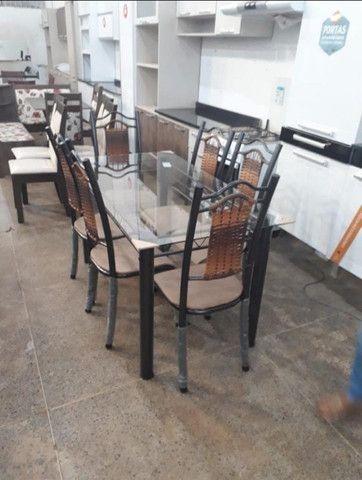 Mesa Itália 6 Cadeiras - Foto 4