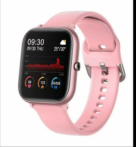 Relógio inteligente smartwatch colmi p8 - Foto 2