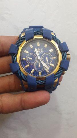 Vendo relógio invicta bolt com caixinha cartão de garantia