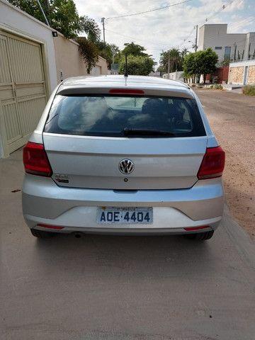 Volkswagen Novo Gol - Trend Line - 2016/2017 - Cor Prata - 4 portas - Foto 7