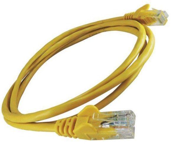 Cabo de rede 1 metro amarelo