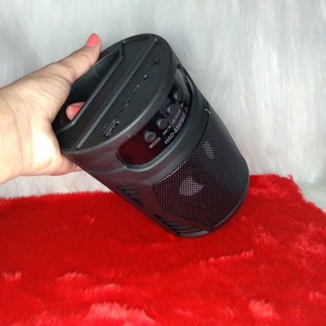 Caixinha de som portátil 3107 - Foto 4