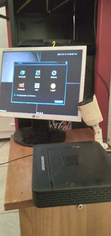 Troco Baú Moto Kit DVR Manual e CD