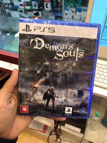 IMPERDIVEL !! PlayStation 5 + 1 jogo com 1 ano de garantia !! - Foto 2