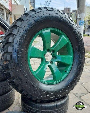 Jg Roda Aro 22 6x139 + Pneu Maxxis Trepador 40x15,5 R22 , troller
