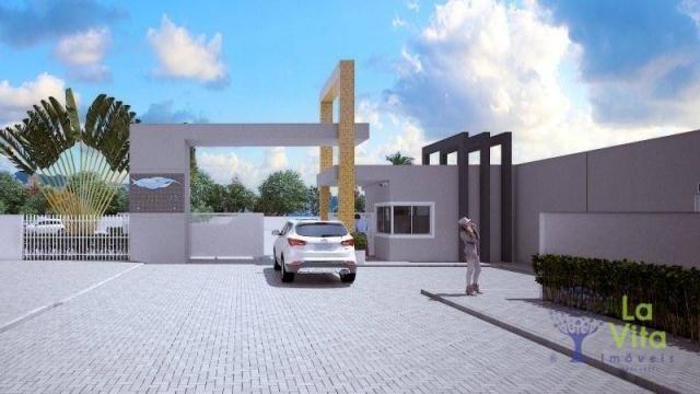 Apartamento com 2 dormitórios à venda, 52 m² por R$ 248.328,00 - Itacolomi - Balneário Piç - Foto 2