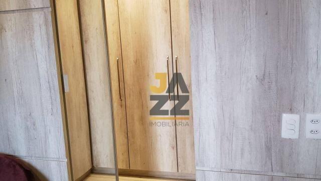 Lindo apartamento com 2 dormitórios e closet à venda, 73 m² por R$ 450.000 - Vila Brasil - - Foto 2