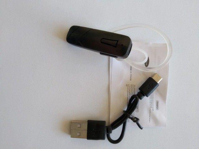 Fone De Ouvido Bluetooth Headset Chamada De Celular M165 - Foto 4