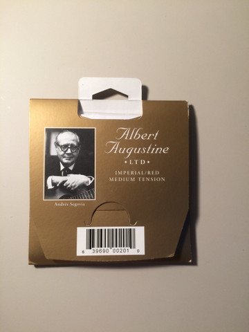 Cordas de violão savarez 520 R e Albert Augustine - Foto 3