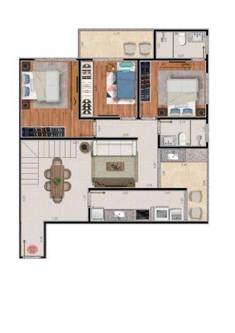 Apartamento com 2 dormitórios à venda, 74 m² por R$ 325.000,00 - Bairu - Juiz de Fora/MG - Foto 11