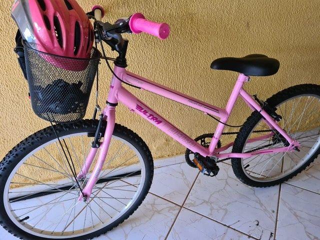 Bicicleta ultra power soft, aro 26, 21 marchas. Nova!! - Foto 2