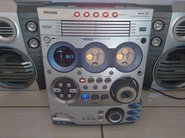 *Em Araguaina* Som Micro System Philips 500w