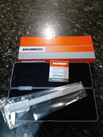 Paquímetro digimess 150 mm novo na caixa - Foto 2