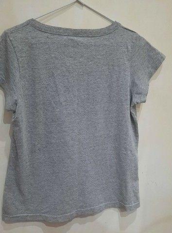 Camiseta feminina  - Foto 2
