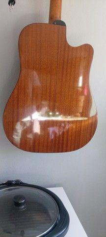 Violão canhoto Takamine EG 340 CLH - Foto 3