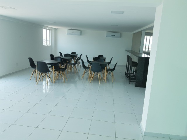 Apartamento Bancários 02 Qtos Elevador e Piscina Novo Frente Sul (BA21) - Foto 3