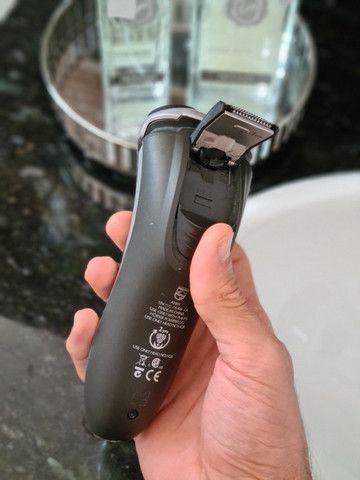 AquaTouch Barbeador Philips elétrico seco/molhado AT891/14 - Foto 3