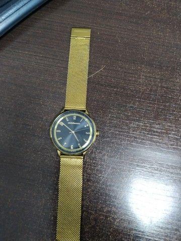 Relógio Dourado chilli beans - Foto 3