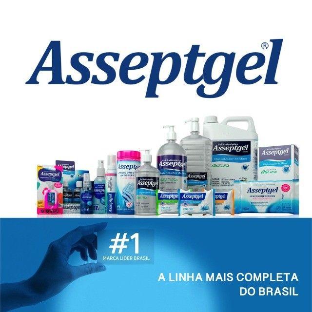 Asseptgel Spray Antisséptico 120ml Kit c/ 3Un - Foto 4