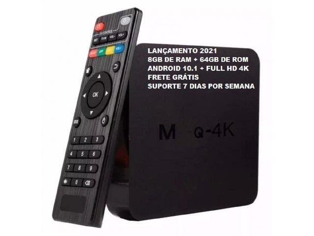 Tv Box 4k Wifi 5g 64gbRam 8g Última Geração 2021 Lançamento - Foto 3