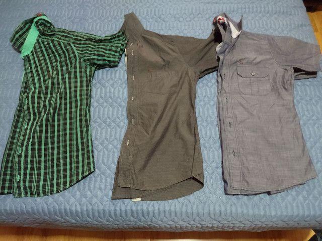Camisas tamanho P - Foto 2