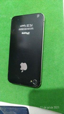 iPhone 4s bateria boa  bem conservado - Foto 4