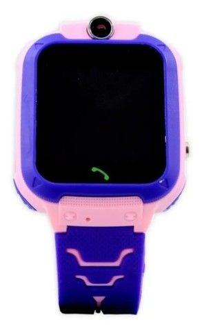 Relógio smart Rastreador Infantil Localizador - Foto 4