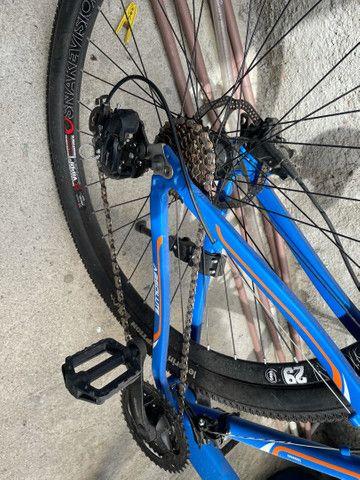 Vendo bicicleta 29 divido no cartão  - Foto 4