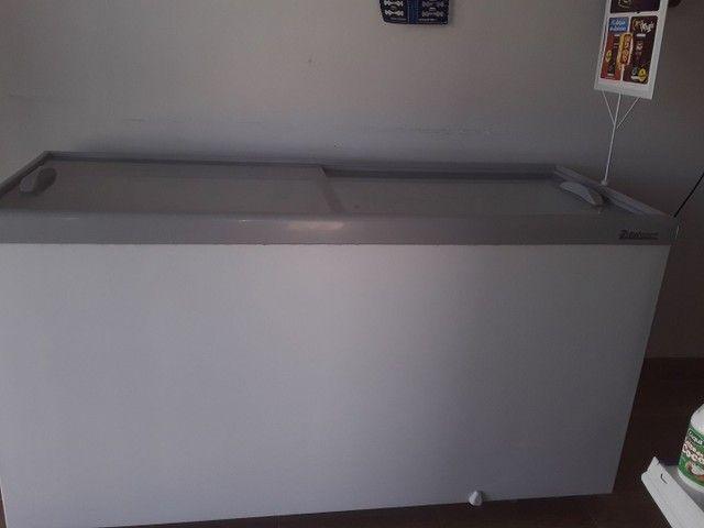 Vendo um frizer gelopar 510 litros - Foto 6