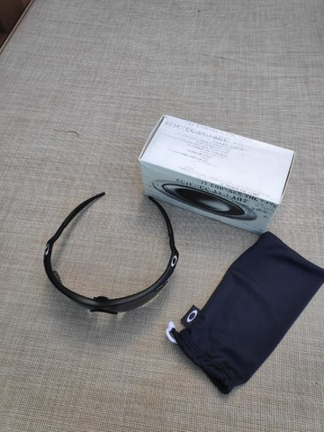 Oakley M Frame Heater 09-100 Preto Lentes Cinza Original - Foto 4